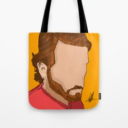 Myself Digitized Tote Bag