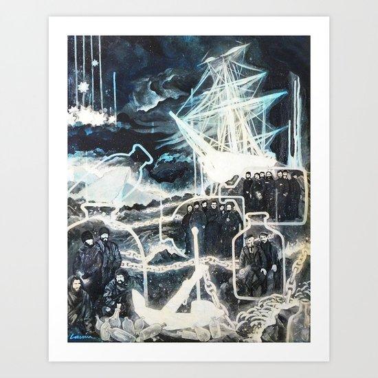 """""""Washed Ashore"""" Art Print"""