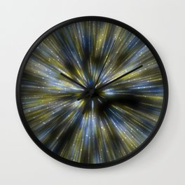 Hyper Space Wall Clock