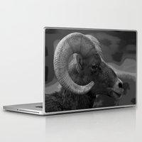 ram Laptop & iPad Skins featuring Ram by Barbara Schultheis