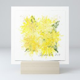 Mini Impressions: DANDELION Mini Art Print