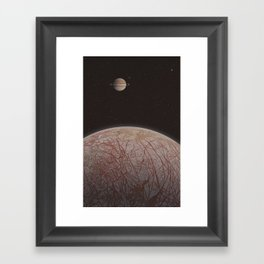 Europa (moon) Framed Art Print