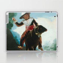 Francisco de Goya- Boy On A Ram Laptop & iPad Skin