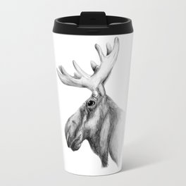 Moose Art Travel Mug