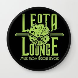 Leota Lounge Wall Clock