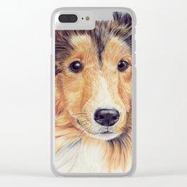 Shetland sheepdog - sheltie Clear iPhone Case