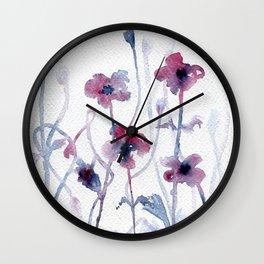 Floral #3 Wall Clock