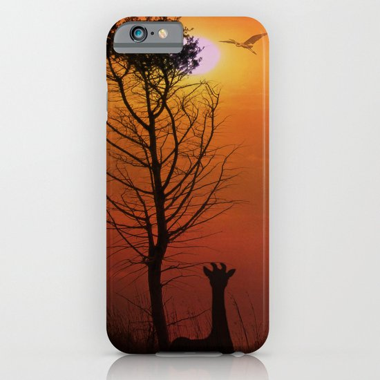 Sunset on the Plaines iPhone & iPod Case
