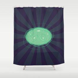 Handpan Hangout Pantam Hangdrum Shower Curtain