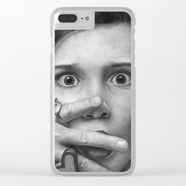 Millie Bobby Brown Clear iPhone Case