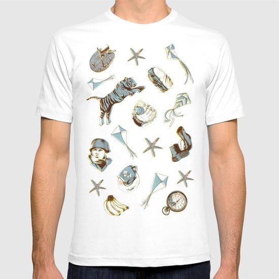 pattern T-shirt