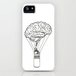 Light up my brain iPhone Case