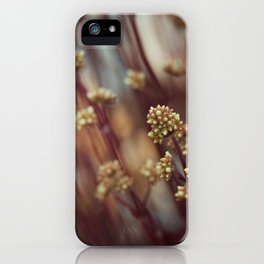 leaning into the sharp points iPhone Case
