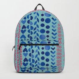 Watercolour Shapes - Magic Villa Backpack