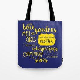 Blue Gardens Tote Bag