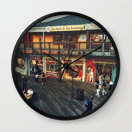 Fisherman's warf Wall Clock