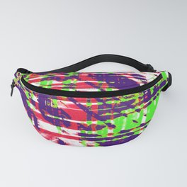 Aesthetic Urban Abstract Visual Art Party Rave Fanny Pack