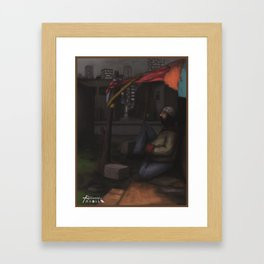 La casita de los sueños Framed Art Print