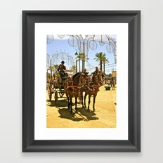 Spanish Festival Framed Art Print