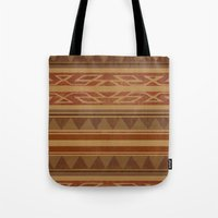 navajo Tote Bags featuring Navajo  by Terry Fan