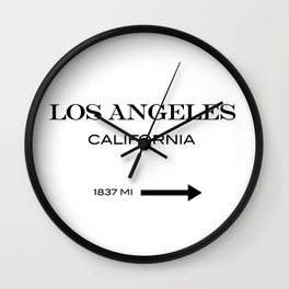 Los Angeles - California Wall Clock