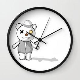 Bear Mecanic Wall Clock