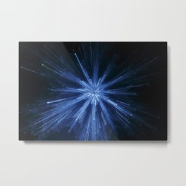 Abstract Light Effect Metal Print