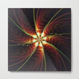 Fractality - Starfish Metal Print
