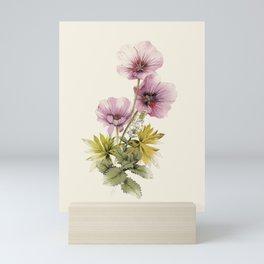 Geranium & Gardenmint Mini Art Print