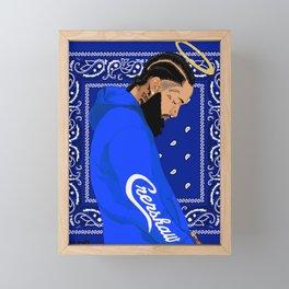 Nipsey Framed Mini Art Print