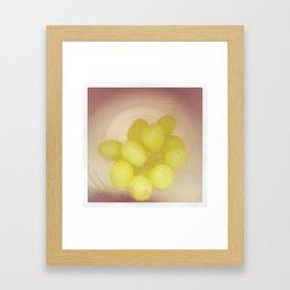 Grapes:. Framed Art Print
