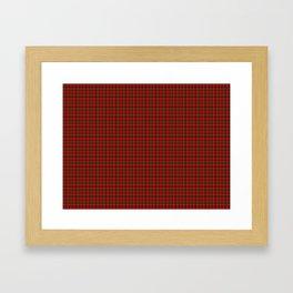 Chisholm Tartan Framed Art Print