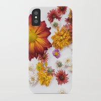 leah flores iPhone & iPod Cases featuring FLORES by Miles of Light