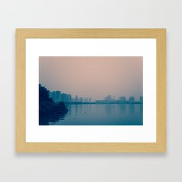 In Wait Framed Art Print