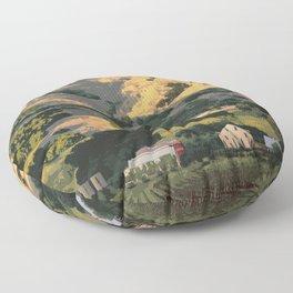 Regusci Winery - Napa Valley Floor Pillow