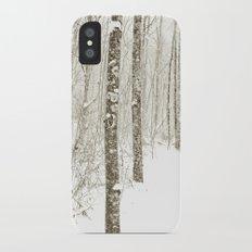 Wintry Mix Slim Case iPhone X