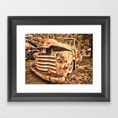 Old pickup ( Photo by Antal Ullmann ) Framed Art Print