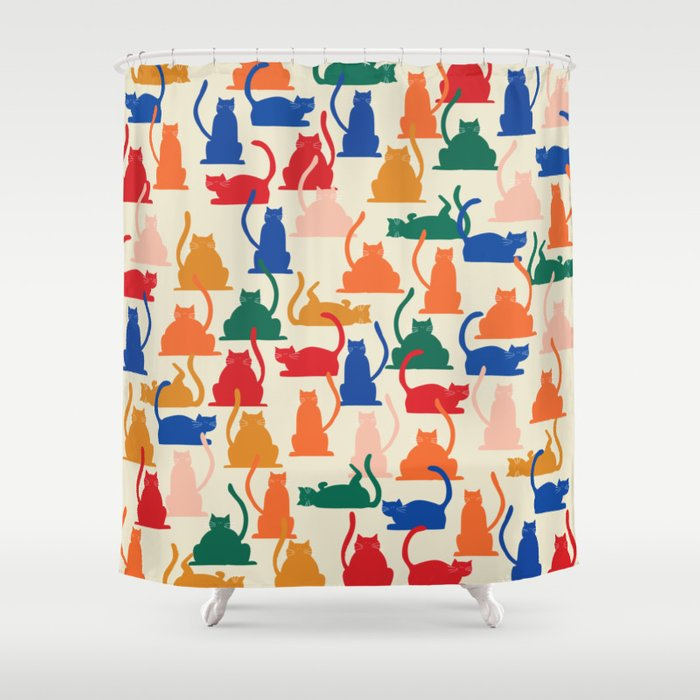Flaunt Your Catitude Shower Curtain
