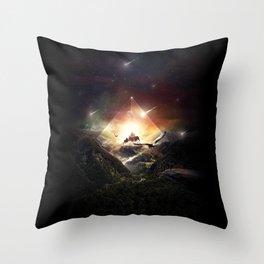 The Glass Mountain Throw Pillow