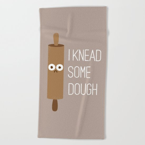 Short Bread Beach Towel