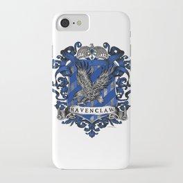 Ravenclaw Color Crest iPhone Case