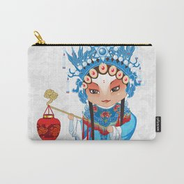 Beijing Opera Character GongNv Carry-All Pouch