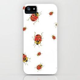 A ladybug story iPhone Case