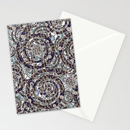Year of the Snake mosaic Stationery Cards
