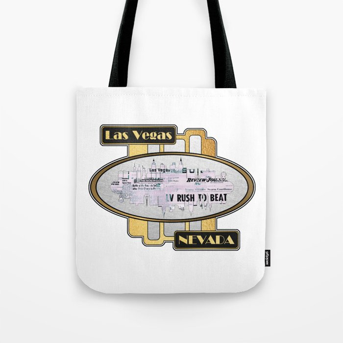 A Souvenir Of Las Vegas Nevada Tote Bag