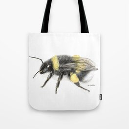 White-tailed bumblebee Tote Bag
