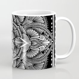 Geometric mandala illustration Coffee Mug