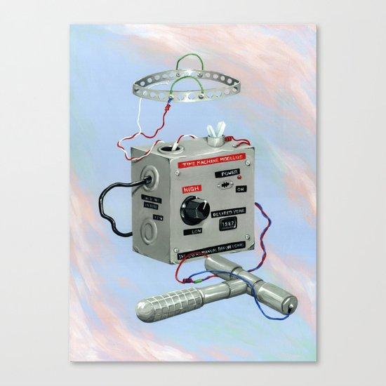 Uncle Rico's Time Machine Canvas Print