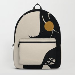 Black Hair No. 16 Backpack