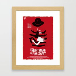A Nightmare - Red Collection Framed Art Print